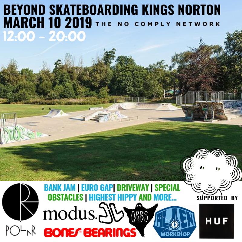NCN Beyond Skateboarding Kings Norton Final Flyer Brands