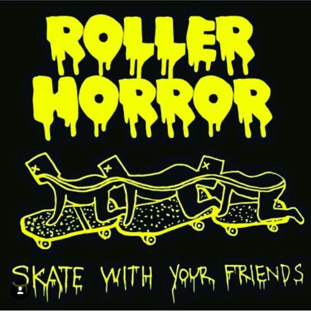 Roller Horror Graphic