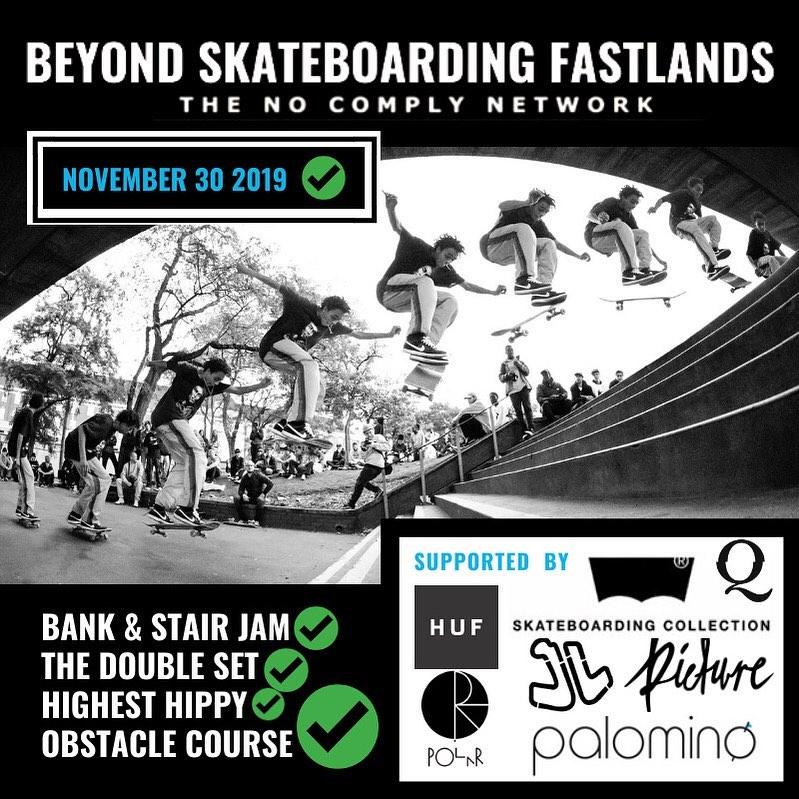 Beyond Skateboarding Fastlands Flyer