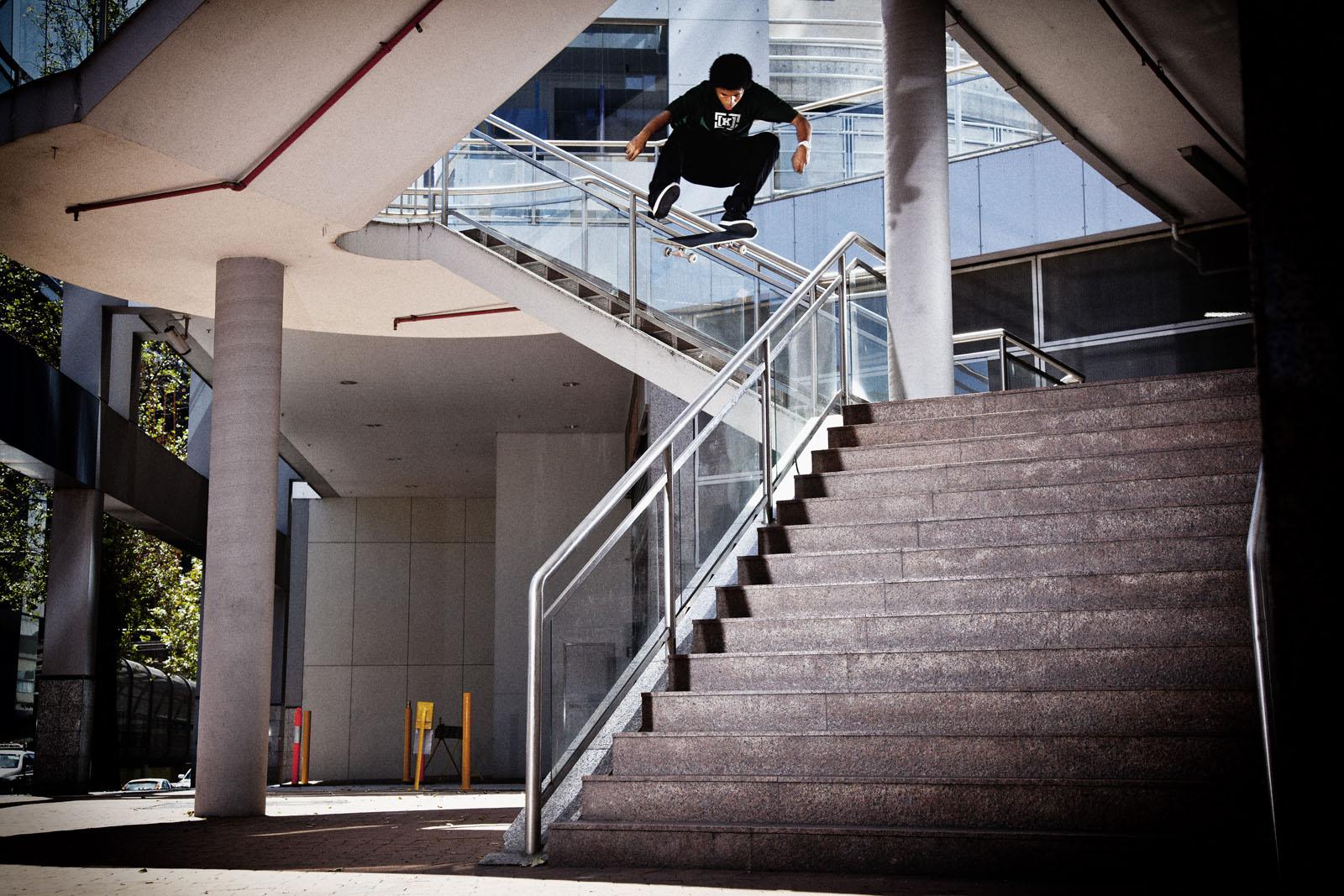 Kevin Romar Shad Lambert Kickflip Photo