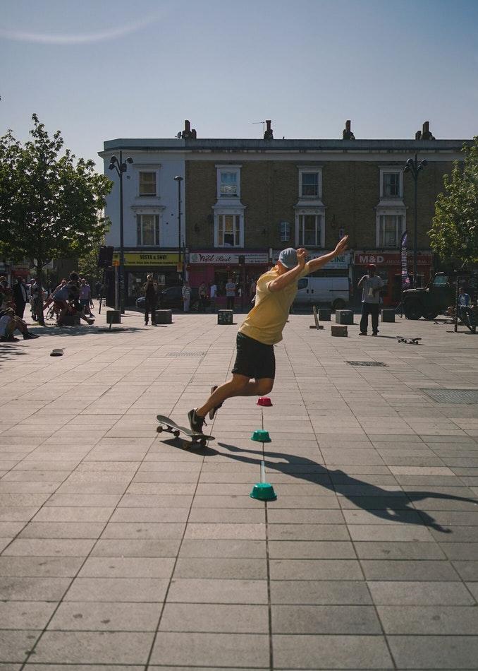 Beyond Skateboarding Deptford Image 1 drew slalsom