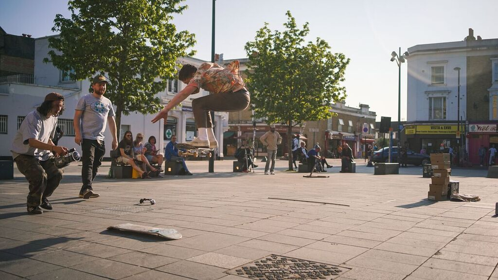 Beyond Skateboarding Deptford Image 2 Caradog Long Ollie