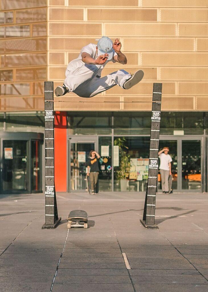 Beyond Skateboarding Deptford Image Cam Barr Hippy Jump